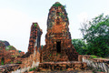 Old Temple of Ayuthaya, Thailand - PhotoDune Item for Sale