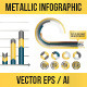 Metallic Infographic Elements - GraphicRiver Item for Sale
