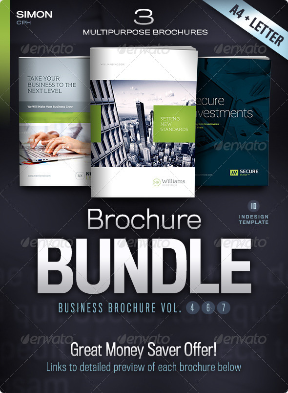 GraphicRiver Business Brochure Bundle Vol 4-6-7 4906395