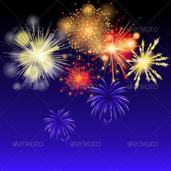 GraphicRiver Fireworks 4908870