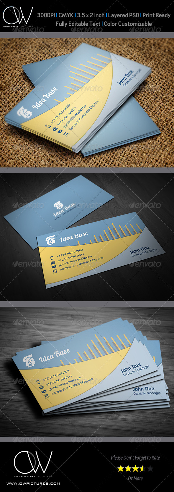 Corporate Business Card Vol.29 - Corporate Business Cards