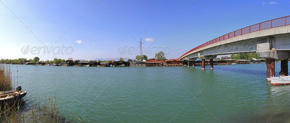 Bojana River Bridge - Stock Photo - Images