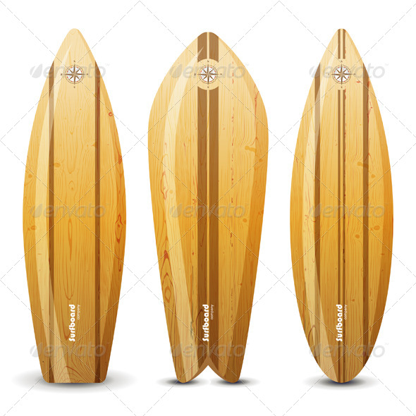 GraphicRiver Surf Boards 4909975