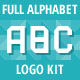 Full Alphabet Logo Kit - GraphicRiver Item for Sale