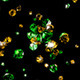 Diamonds Green And Yellow - VideoHive Item for Sale