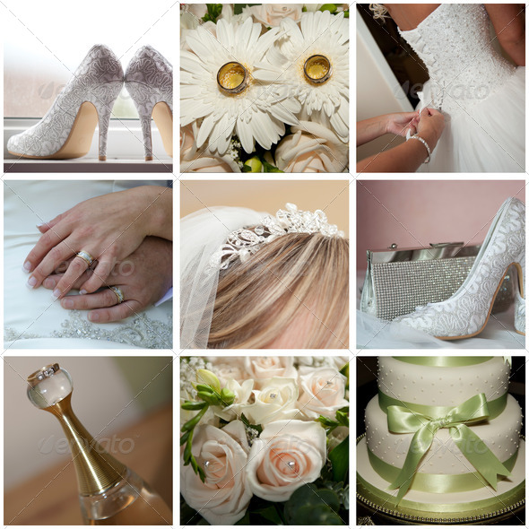 Wedding compilations - Stock Photo - Images