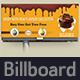 Cake Billboard Template Vol.2 - GraphicRiver Item for Sale