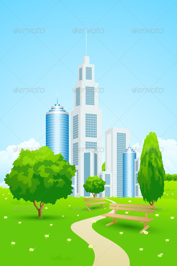 GraphicRiver City Park 4915013