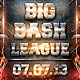 Big Bash League Flyer - GraphicRiver Item for Sale