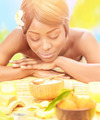Black woman on spa resort - PhotoDune Item for Sale