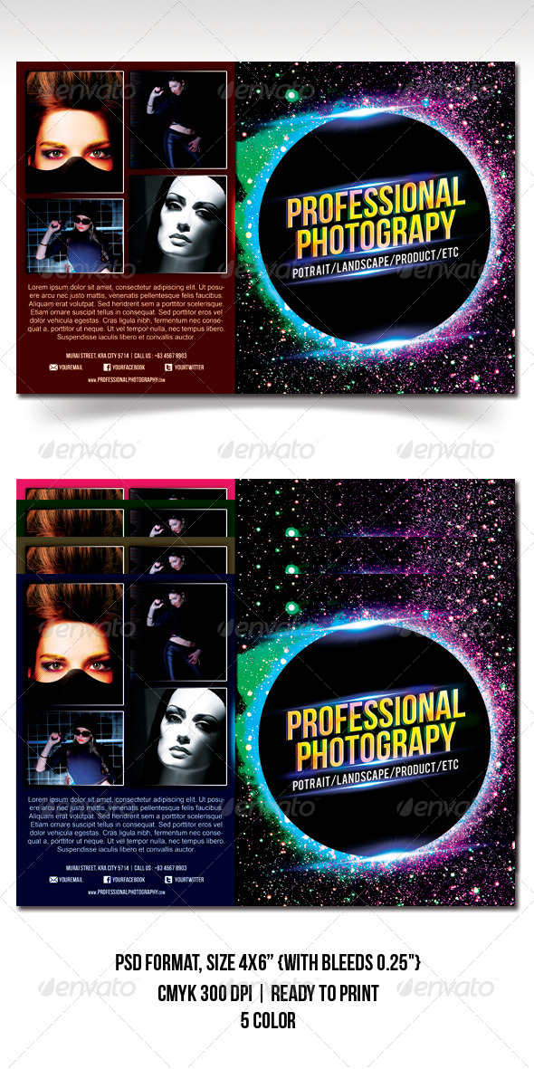 GraphicRiver Photography Exhibition Flyer 4820526