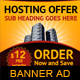 Hosting Offer Banner Ad Template - GraphicRiver Item for Sale
