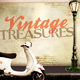 Vintage Treasures Flyer Template