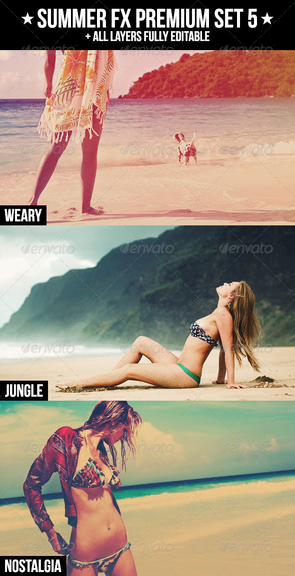 GraphicRiver Summer FX Premium Set 5 4893229