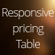 CSS3 Responsive Pricing Table - CodeCanyon Item for Sale