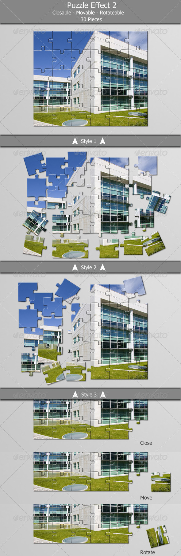GraphicRiver Puzzle Effect V2 4919071