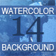Set of 14th Watercolor Backgrounds - GraphicRiver Item for Sale