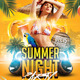 Summer Night Party Flyer Template - GraphicRiver Item for Sale