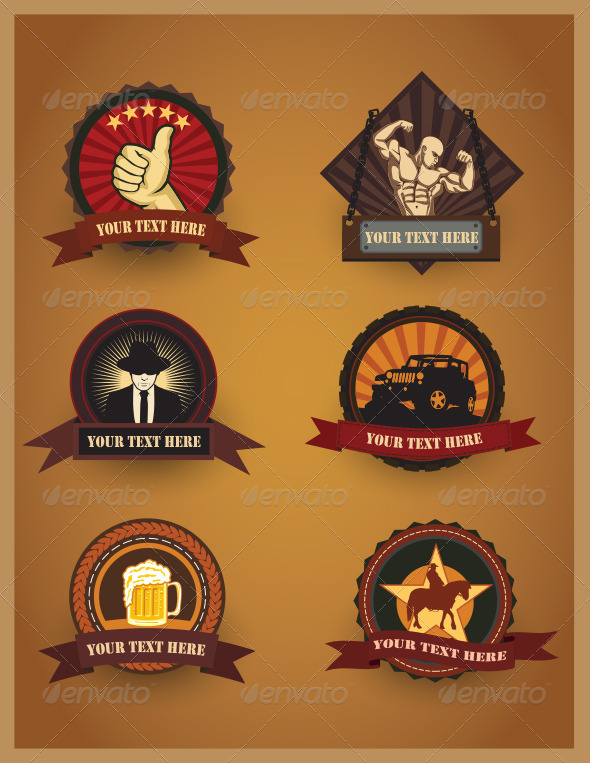 GraphicRiver Various Badges Design Version 2 4921183