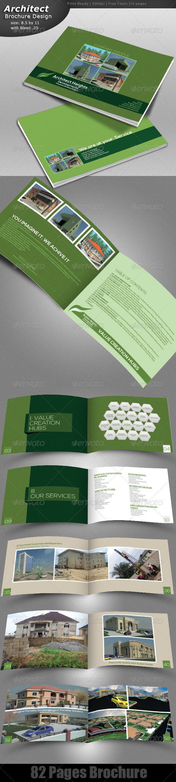 GraphicRiver Architecture Brochure Design 4923736