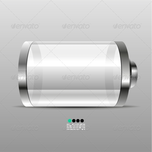 GraphicRiver Battery Icon Design Template 4924148