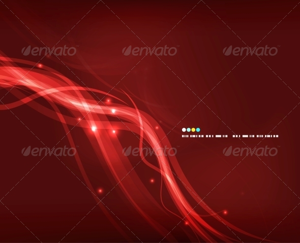 GraphicRiver Abstract Glowing Lines 4925392