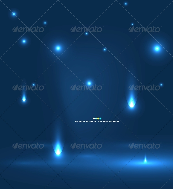 GraphicRiver Abstract Flying Lights 4927506