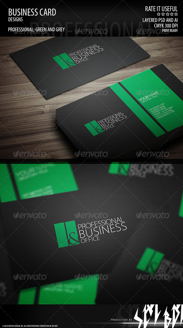 GraphicRiver Shy Boy Business Card 002 4854801