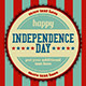 Independence Day Event Stamp Background - GraphicRiver Item for Sale