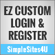 EZ Custom Login & Registration - CodeCanyon Item for Sale