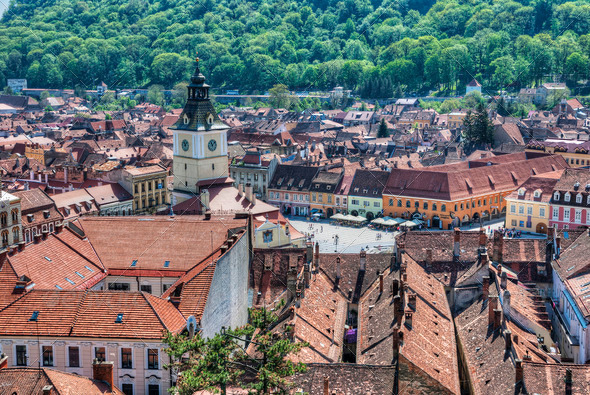 City of Brasov, Romania - Stock Photo - Images