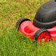 Lawnmower mowing the grass - PhotoDune Item for Sale