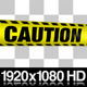 Yellow Caution Boundary Tape - 5 Videos - VideoHive Item for Sale