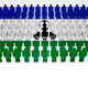 Lesotho Flag Parade - PhotoDune Item for Sale