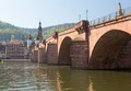 Old bridge into town of Heidelberg Germany - PhotoDune Item for Sale