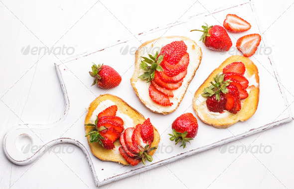 Summer breakfast - Stock Photo - Images