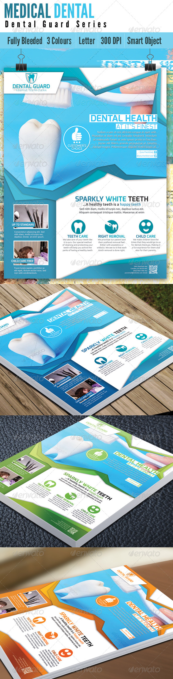 GraphicRiver Medical Dental Flyer V2 4936189