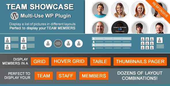Team Showcase - Wordpress Plugin - CodeCanyon Item for Sale