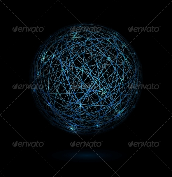 GraphicRiver Sphere of Lines 4936466