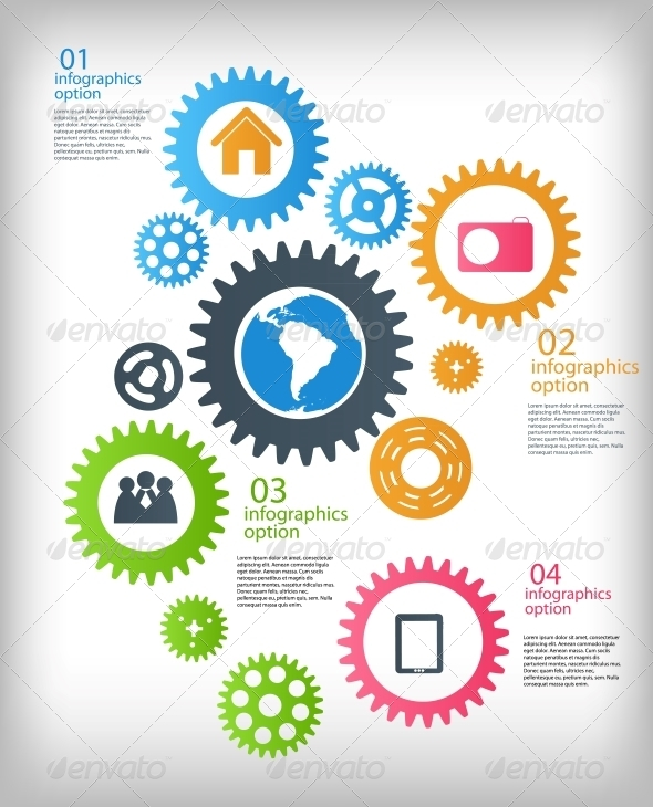 GraphicRiver Infographic Business Template 4938289