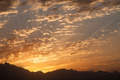Sunset in Desert - Sahara Rocky Mountains - PhotoDune Item for Sale