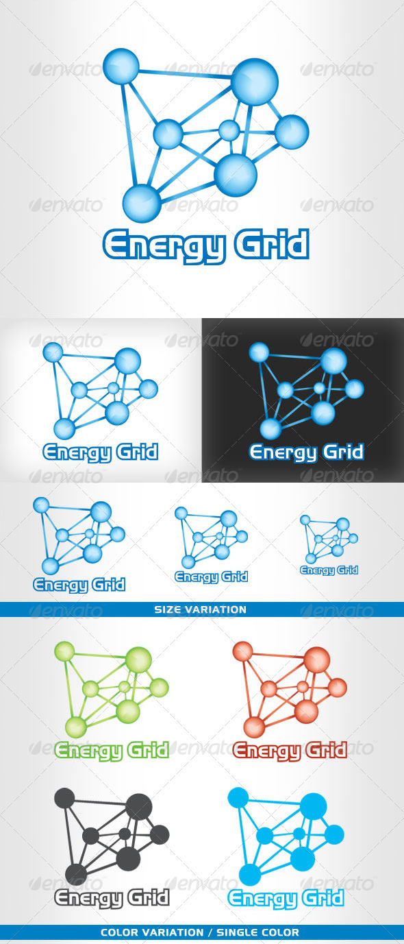 EnergyGrid - Logo for Business - Vector Abstract
