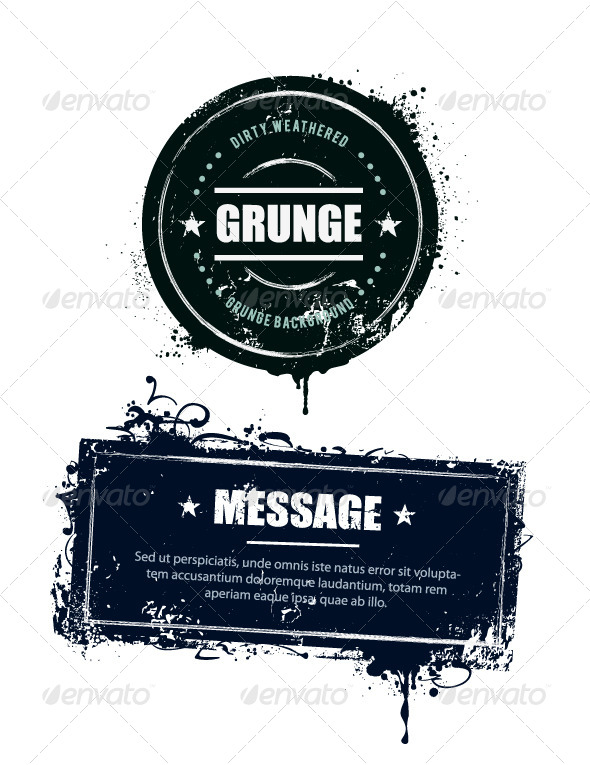 GraphicRiver Grunge Dirty Banners 4939997
