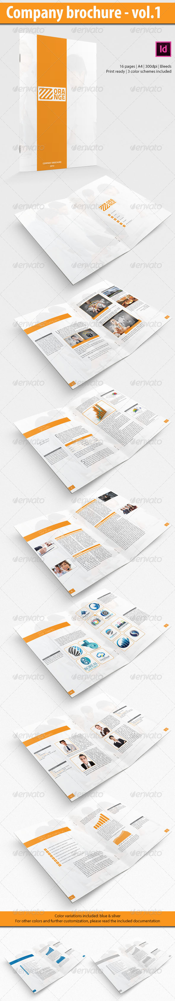 GraphicRiver Business brochure 4940017