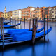 Vertical view of gondolas in Venice - PhotoDune Item for Sale