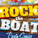 Rock The Boat Party Flyer Template - GraphicRiver Item for Sale