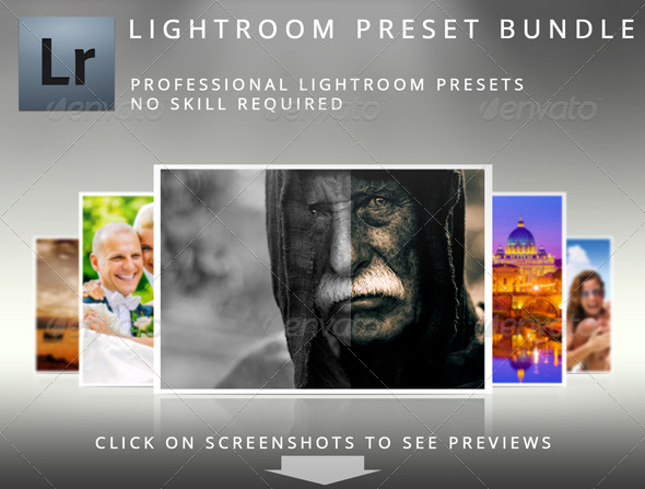 GraphicRiver Lightroom Preset Bundle 4945485