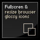 Resize &amp;amp; Align Web 2.0 Icons &amp;amp; Page + Fullscreen - ActiveDen Item for Sale