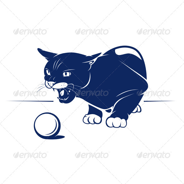 GraphicRiver Cartoon Evil Cat 4947915
