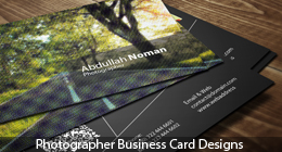 Photograph Business Card